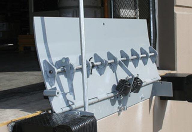 Sm Series Mechanical Edge Of Dock Leveler Loading Dock