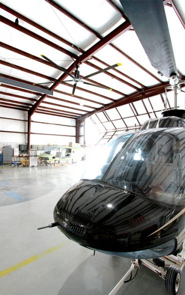 Helicopter hanger I class