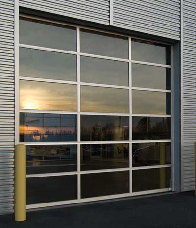 "Serco 2"" Aluminum Sectional Doors"