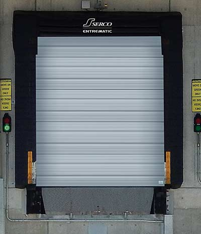 Serco Steel Open-Back Overhead Sectional Doors