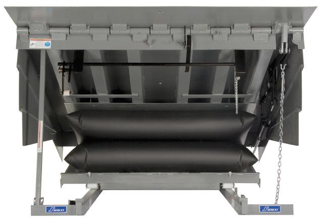 Serco Air-Powered Dock Leveler