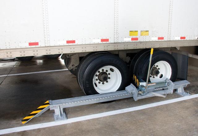 SLSC Series Safety-ChockTM Surface-Mounted Wheel Restraint