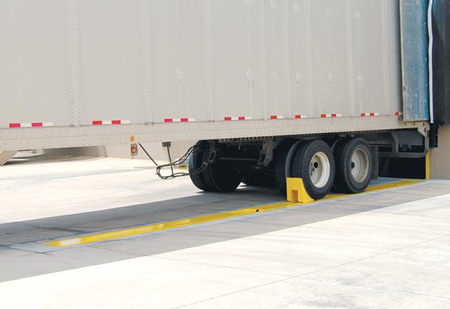 SL-UTC Series Universal Truck-ChockTM In-Ground Wheel Restraint