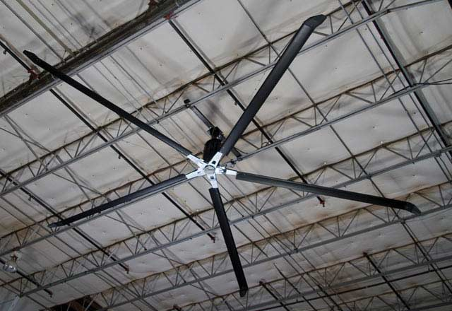 Industrial Hvls Ceiling Fans From Serco